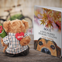 Max. A Dog Guided Journey to Love.